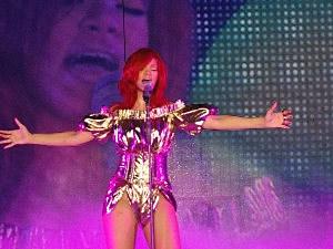 Rihanna at Borgata