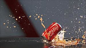Bullet Hitting Coke Can