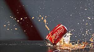 Bullet Hitting Coke Can