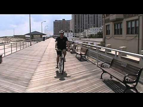 Tom Morgan on Atlantic City Boardwalk