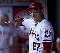 27 mike trout