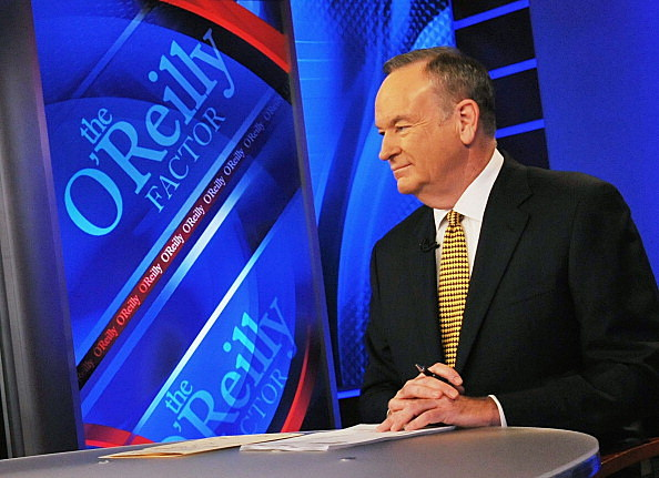"ill O'Reilly, host of FOX's ""The O'Reilly Factor"" at FOX Studios"
