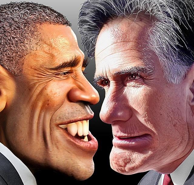 obama romney