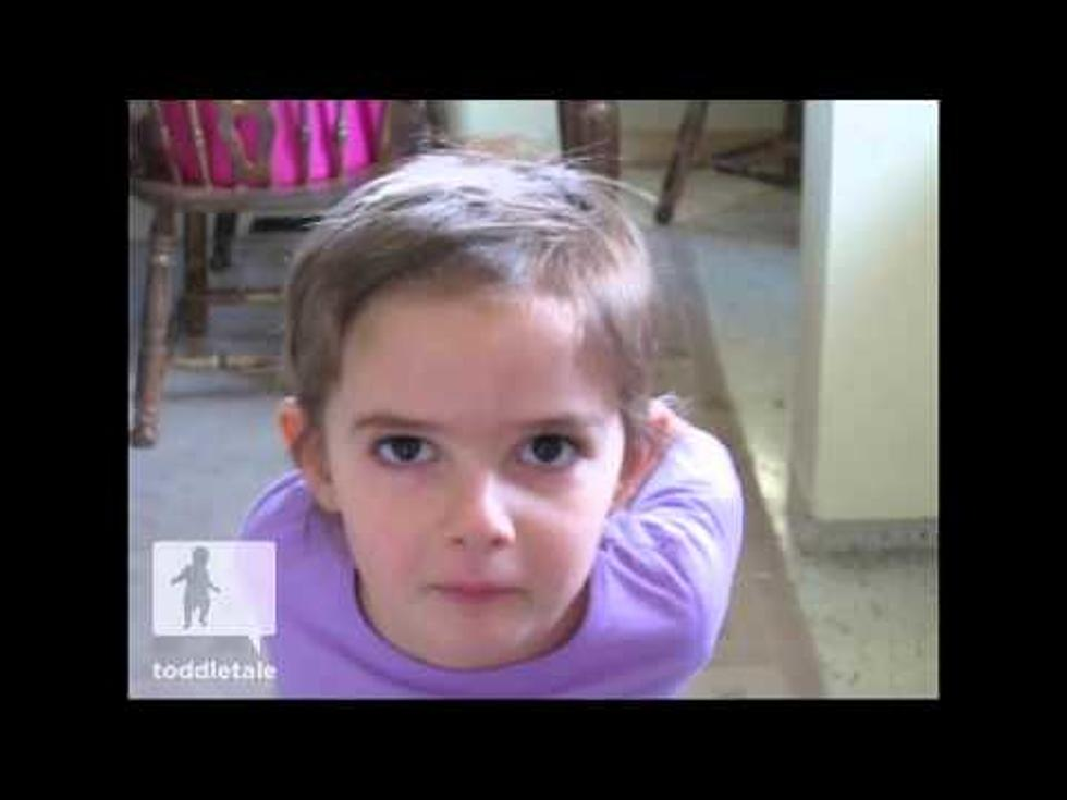 Little Girl Gives Herself An Amazing Haircut Video