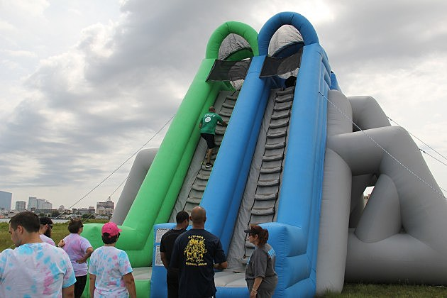 Insane Inflatable 5k at Bader Field in Atlantic City
