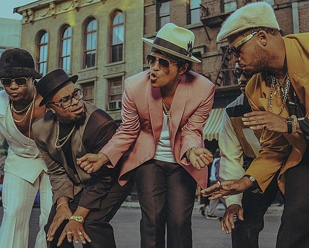 Listen to This Crazy 'Uptown Funk'/'Walk the Dinosaur ...