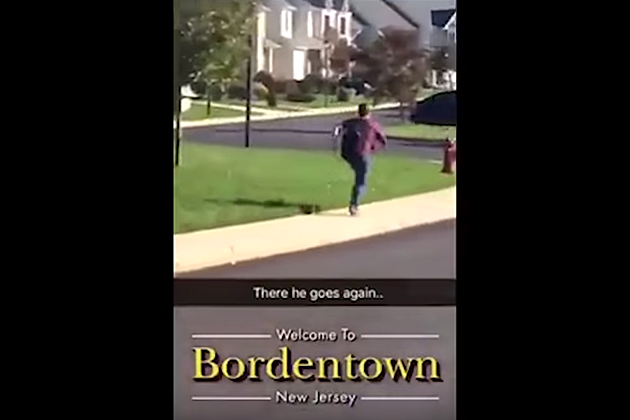 kid sprints home from school every day in funny snapchat video