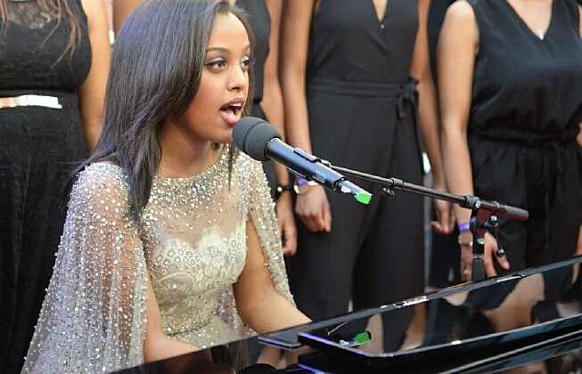 Singer Ruth B. (photographed by Sonia Recchia/Getty Images)