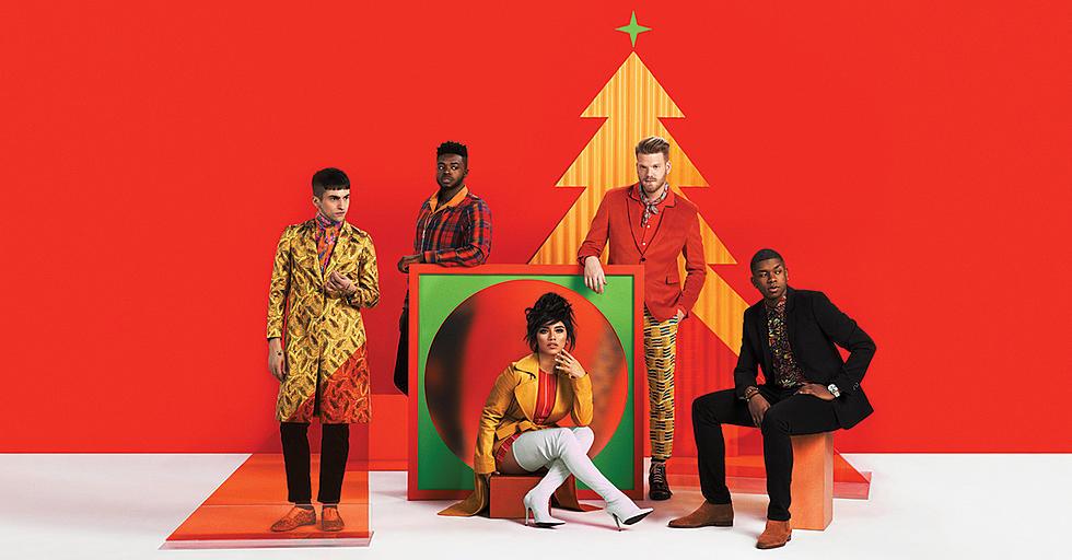 Pentatonix Christmas Is Here! album cover